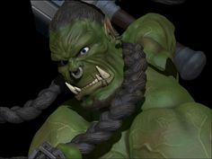 Blizzfest 2014 | 3D| Daniel Haritos | Orc Thrall