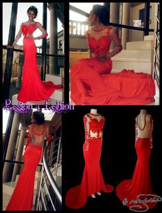 With sheers back and a rounded red finish. Bodice detailed with red lace, sheer sleeves embellished with red lace. Matric Farewell Dresses, Matric Dance Dresses, Prom Dresses, Formal Dresses, Prom Dance, Red Lace, Dress Making, Bodice, Lace Dress