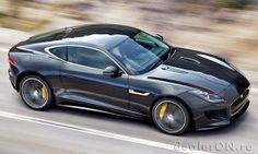 Купе Jaguar F-Type / Ягуар F-тайп