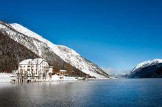 Winter at Achensee, Austria