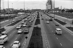 Radial Leste circa 1975 (facing east) - Sao Paulo, Brazil