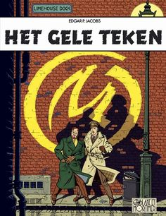 Blake & Mortimer: Het Gele Teken 1956  - The Yellow M