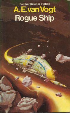 Rogue Ship book cover novel by A.E.Van Vogt
