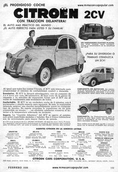 Citröen 2CV 1956