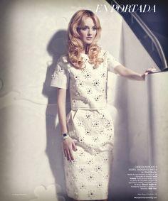 Lydia Hearst | Benjamin Kanarek #photography | Harper's Bazaar en Español May 2012