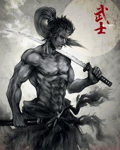 SAMURAI... the best warrior of all time ! by ~YTNAS on deviantART #art #samurai