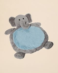This fuzzy baby mat is so cute and snuggly! Perfect for those cool winter nights – Bestever Baby Mats by Mary Meyer Infant Unisex Elephant Mat, Ages 0