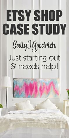 """Etsy Shop Case Study - Sally J Goodwin (Just Starting Out and Needs A Little Help!) I have a really cool Etsy marketing newsletter and one day a gal named Sally replied back to my welcome email saying.. """"Very excited to have found you! I think I found a link from playing around with Etsy Rank. I'm putting a lot of time into my 2 Etsy shops and only seeing sporadic sales. Maybe a couple a month. Seems like every month gets worse. But staying positive; if others can do it so can I."""""""