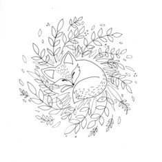 Hand Embroidery Patterns, Embroidery Art, Embroidery Stitches, Embroidery Designs, Colouring Pages, Coloring Books, Animal Drawings, Art Drawings, Mothers Day Drawings
