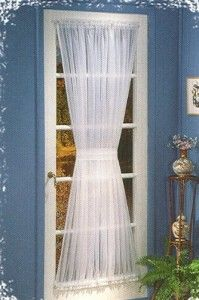 Elegance And Style Of French Door Curtains | Curtains For French Doors