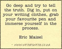 Quotable - Eric Maisel - Writers Write Creative Blog