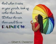 No rain no rainbow quote