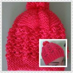 Gorros  tejidos hechos a manos para niñas y mujeres . Hats Handmade for women, babies, and girls