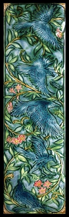 Five For Silver.Crow Tile by Verdant Tile. All rights reserved.
