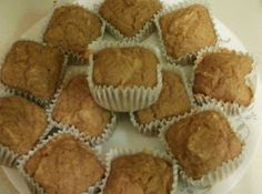 Positive Ponderings: Whole Wheat Applesauce Muffins (Sugar-Free)