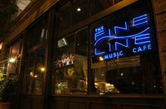 Fine Line Music Cafe in the heart of the Warehouse District of Minneapolis.