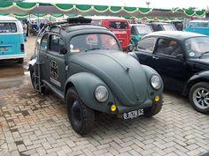 Vintage Volkswagen Indonesia: volkswagen type 1/sedan/kafer/beetle/fusca oval window custom ww 2 military looks