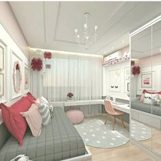 Teen Girl Bedrooms - incredibly super sweet teen girl room tips and tricks. Hungry for other inspiring teen room styling designs please visit the pin to study the post idea 2440572225 immediately Bedroom Decor For Teen Girls, Teenage Girl Bedrooms, Girl Bedroom Designs, Teen Bedroom, Diy Bedroom, Comfy Bedroom, Girl Rooms, Design Bedroom, Bedroom Themes
