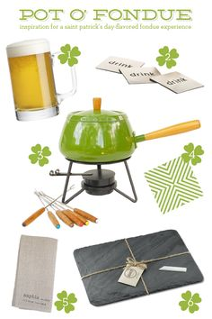 Saint Patrick's Day Entertaining - Pot O' Fondue
