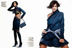Ana Beatriz Barros by JR Duran for Vogue Brazil October 2013
