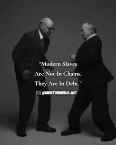 Modern slaves are not chained, they are in debt.What do you think?Modern slaves are not chained, they are in debt. Truth Quotes, Wise Quotes, Quotable Quotes, Success Quotes, Great Quotes, Motivational Quotes, Funny Quotes, Inspirational Quotes, Strong Men Quotes