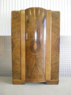 art deco figured walnut wardrobe vintage furniture london art deco figured walnut wardrobe vintage