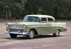 1956 Chevy Bel Air 1956 Chevy Bel Air, Chevrolet Bel Air, Vintage Cars, Antique Cars, American Classic Cars, Chevy Impala, Planes, Trains, Automobile