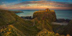 Dunnottar Castle.... Scotland, Stonehaven, Dunnottar Castle - March 2016 https://www.facebook.com/Pawel.Kucharski.Photography Author: Pawel Kucharski