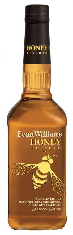 Evan Williams Honey Reserve Liqueur. Very very good. http://www.evanwilliams.com/theman/familyofbrands.php