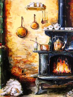 'Home Sweet Home' by Gleb Goloubetski, Oil on Canvas, 100cm x 130cm