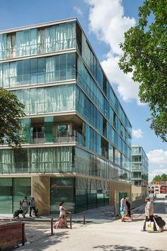 Atelier Kempe Thill, Fres Architectes, Wohnungsbau Montmartre, Paris, Foto: Ulrich Schwarz