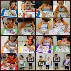 """Colégio Farroupilha - Atividades Ed. Infantil : Projeto """"Eu sou o artista"""""""