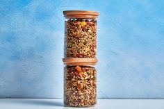 Choose a mild, not-too-grassy, not-too-peppery olive oil for this granola recipe so that its savory flavor doesn't overwhelm the other ingredients. Coconut oil is a great substitution—just warm it until it's pourable first.