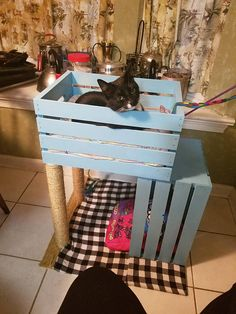 Cutie cat corner - Cats and Dogs House Diy Cat Tower, Cat House Diy, Cat Playground, Cat Room, Cat Condo, Pet Furniture, Animal Projects, Space Cat, Pet Beds