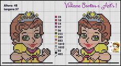 Viviane Pontos e Art's: Gráficos das Princesas Baby