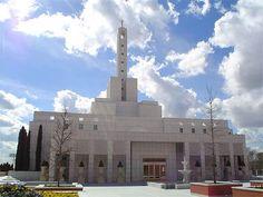 Madrid Spain LDS Temple    #LDSTemple #LDSBaptism #LDS