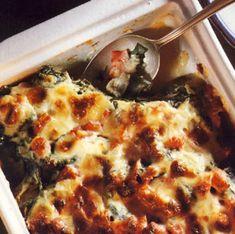 Αγκινάρες με σπανάκι στον φούρνο - gourmed.gr