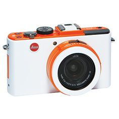 Because cameras can be stylish, too. Leica Color-Customizable D-Lux 5