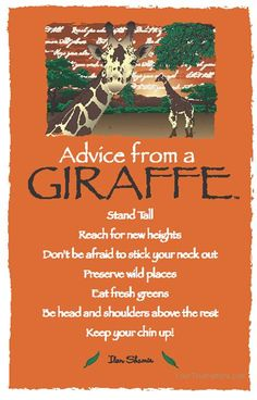 Advice from a Giraffe