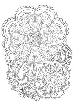 Coloring Books Adult Pages Sheets Mandala Art Craft Ideas Paisley Techniques Zentangles