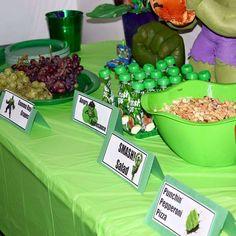 Trae's Smashing Hulk Party | CatchMyParty.com