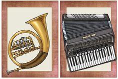 Musik in der Grundschule: Bildkarten Instrumente                                                                                                                                                     Mehr