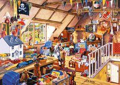Grandma's Attic | Adult Puzzles | 2D Puzzles | Shop | US | ravensburger.com
