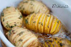 Patatas al horno Hasselback