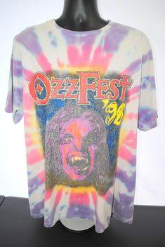 1998 Ozzfest Vintage Ozzy Osbourne Tool Megadeth System