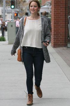 Jennifer Lawrence street style
