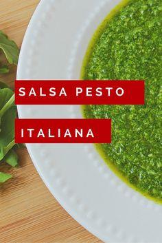 Receta Salsa Pesto -Fácil de hacer y Absolutamente una Explosión de Sabores - Marca Resgistrada de la Cocina Italiana