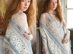 Sneak peek inside 2014 Special Crochet Issue of Vogue Knitting ... Valentina Devine's Shawl #crochet