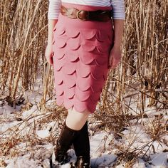 Layers of Petals Skirt by Mama Says Sew, via Flickr