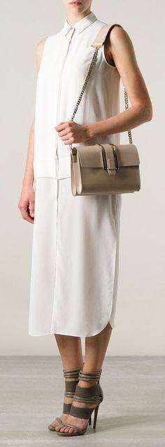 Faye Suede Shoulder Bag | Chloe, Shoulder Bags and Beige Color